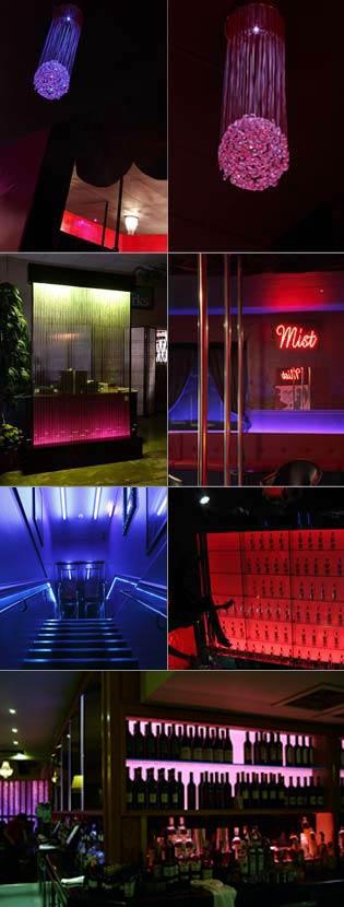 Quirke mcnamara consultancy qmc nightclub bar design for Interior design lighting specialist